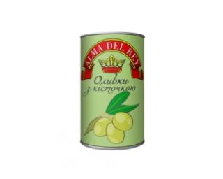 Оливки зеленые ALMA DEL REY
