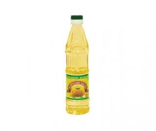 Олія соняшникова рафінована дезодорована 0,5 л.
