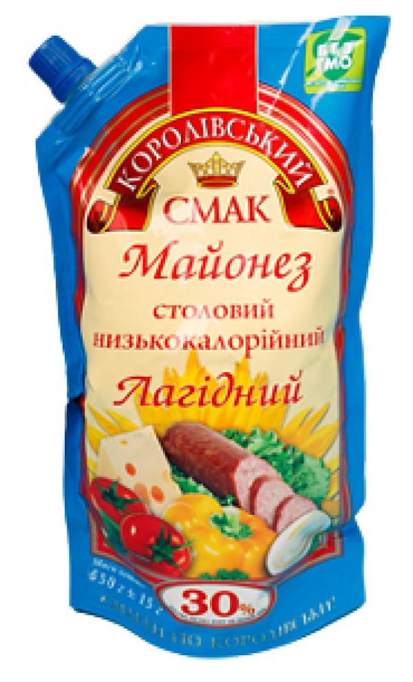 """МАЙОНЕЗ """"ЛАГІДНИЙ"""" 30%, 650Г"""