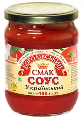 """СОУС """"УКРАЇНСЬКИЙ"""" (УКРАИНСКИЙ), 480Г"""