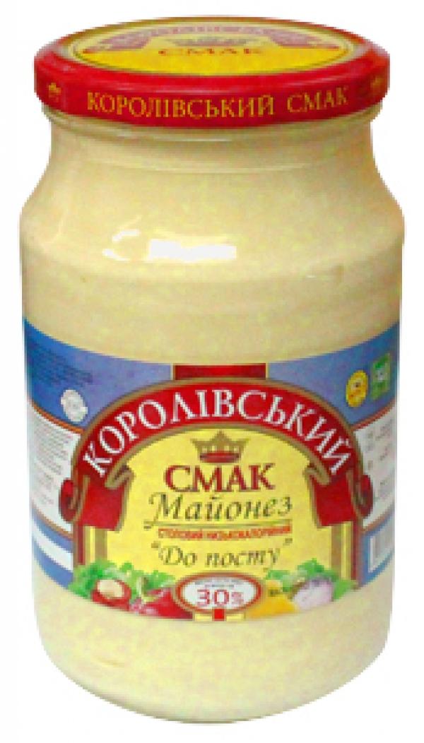 """МАЙОНЕЗ """"ДО ПОСТУ"""" 30%, 780Г"""