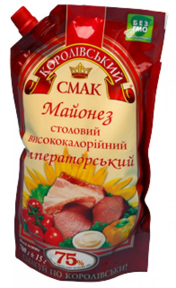 """МАЙОНЕЗ """"ИМПЕРАТОРСЬКИЙ"""" (ИМПЕРАТОРСКИЙ) 75%, 700Г"""