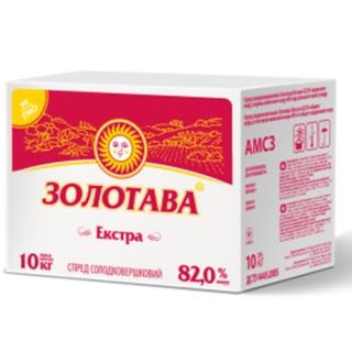 "СПРЕД СОЛОДКОВЕРШКОВИЙ ""ЗОЛОТАВА"" ЕКСТРА 82,0%"