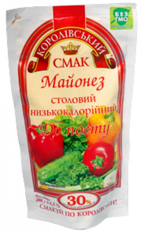 """МАЙОНЕЗ """"ДО ПОСТУ"""" 30%, 180Г"""