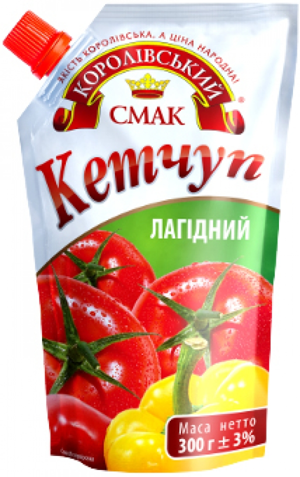 "КЕТЧУП ""ЛАГІДНИЙ"" (НЕЖНЫЙ) 300Г"