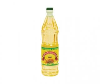 Олія соняшникова рафінована дезодорована 1 л.