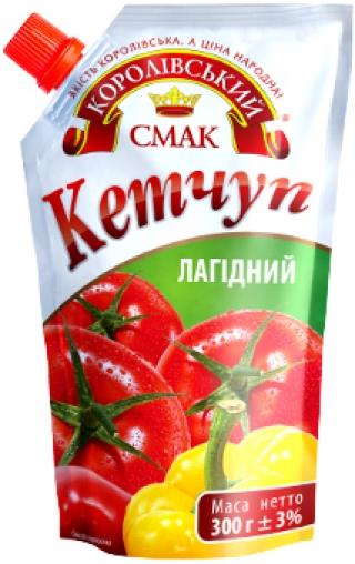 """КЕТЧУП """"ЛАГІДНИЙ"""" 300Г"""