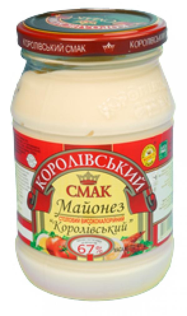 """МАЙОНЕЗ """"КОРОЛІВСЬКИЙ"""" 67%, 400Г"""