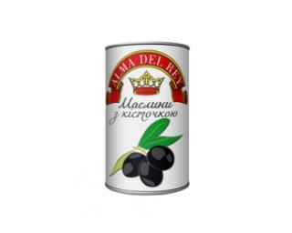 Маслини чорні ALMA DEL REY