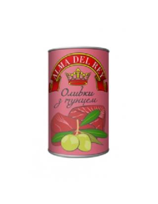 Оливки зеленые ALMA DEL REY с тунцом