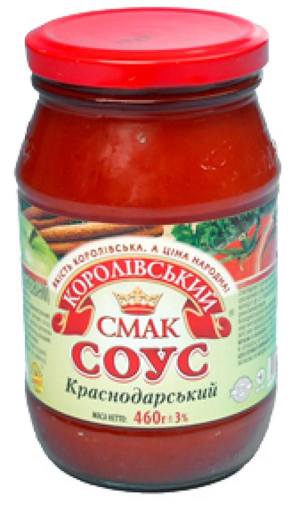 """СОУС """"КРАСНОДАРСЬКИЙ"""" (КРАСНОДАРСКИЙ), 460Г"""