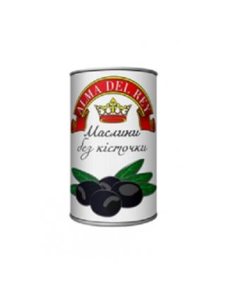Маслины черные без косточки ALMA DEL REY