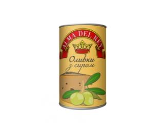 Оливки зеленые ALMA DEL REY с сыром