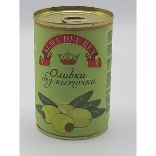 Оливки зелені без кісточки ALMA DEL REY